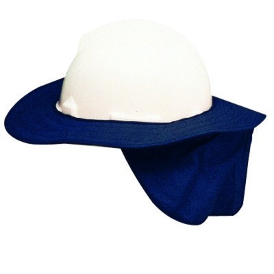 Helmet Brim w/flap slip on