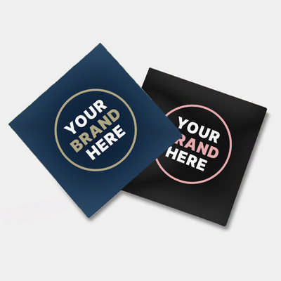 Gloss Paper Sticker (75 x 75 mm) - (printed with 1 colour(s))  (GPS101_PB)