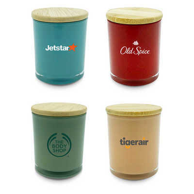 Relax candle coloured Small