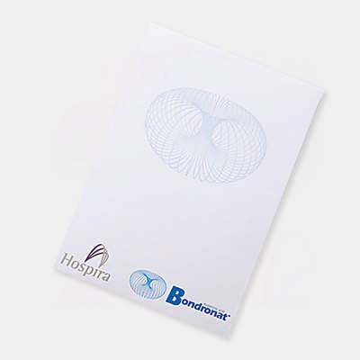A5 Note pad (25 leaves per pad)