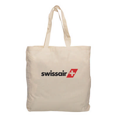 Calico Tote Bag with Gusset