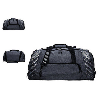 Polyester Oxford Heather Luggage Bag