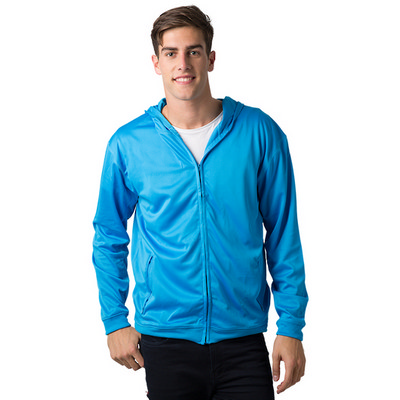 Adults 100% Polyester Cooldry Ultra Light Full Zip