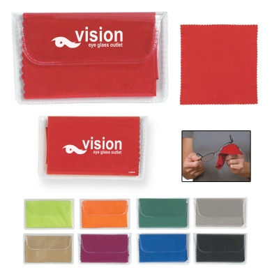 ASSN11 Microfiber Cleaning Cloth In Case