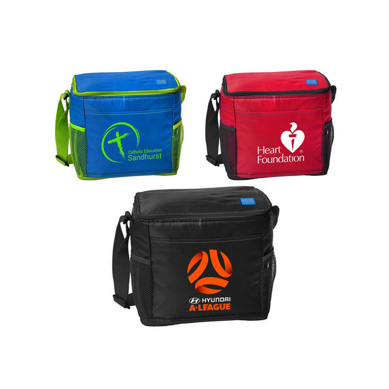 12-Can Cooler With Mesh Pockets