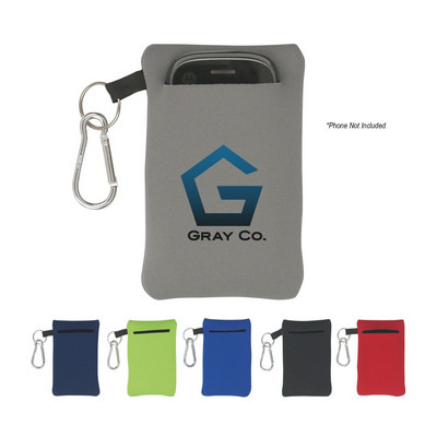 IPAD319 Neoprene Portable Electronics Case With Ca