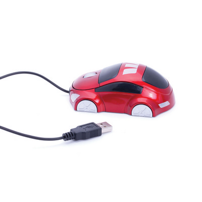 Car Shaped Cable Optical Mouse