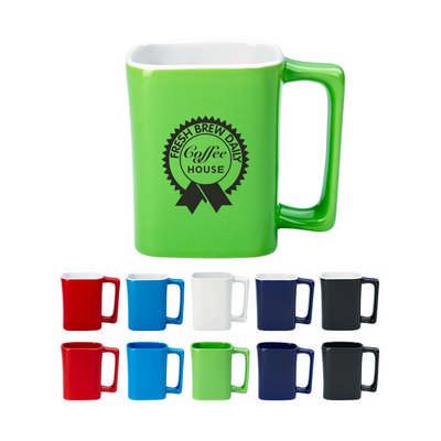 325Ml Square Mug