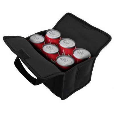 6 Can Neoprene Cooler Bag