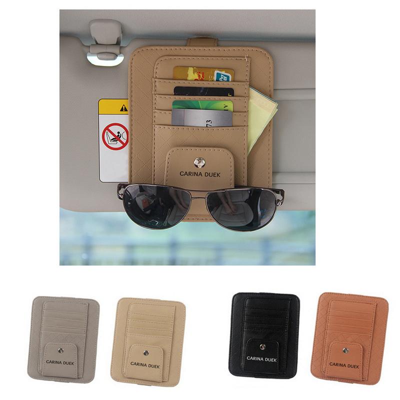 Multifunction Hanging Car Card Bag