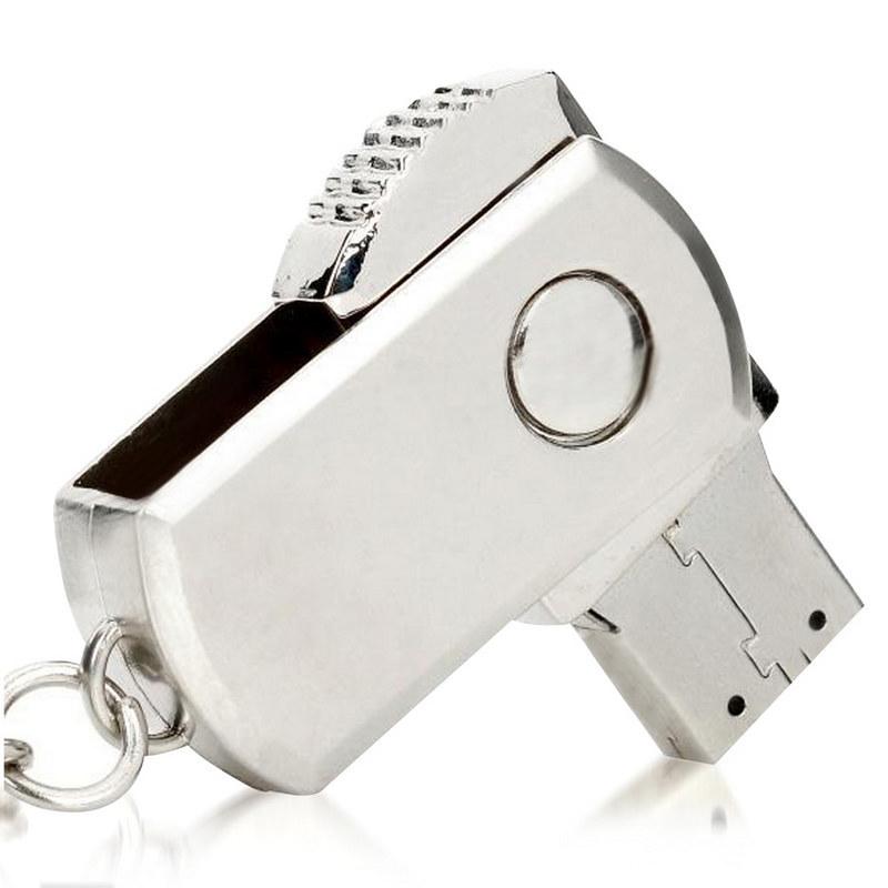 1Gb Swivel Metal Flash Drive