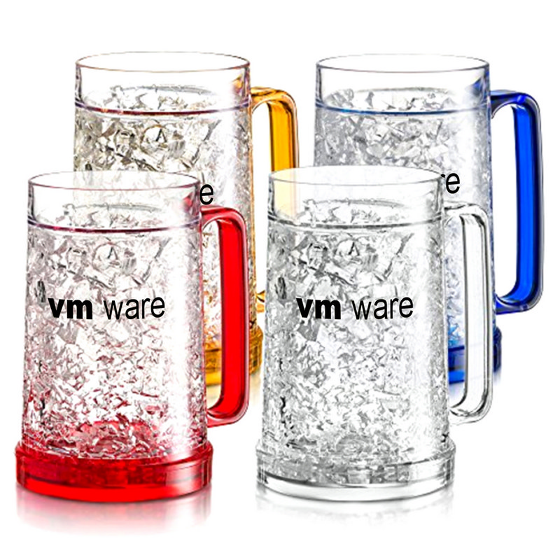 480Ml Double Wall Freezer Gel Filled Mug