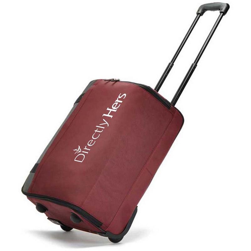 Oxford Luggage Travel Wheels Trolley Bag