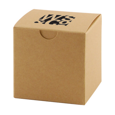 FOLD-UP GIFT BOX - NATURAL KRAFT - (printed with 1 colour(s))  (OCBMS139_OC)
