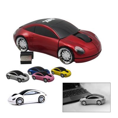 800DPI 2.4GHZ Wireless Car Optical Mouse /Mice