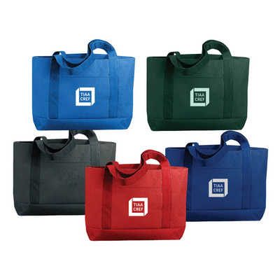 600D Polyester Solid Colour Tote Bag
