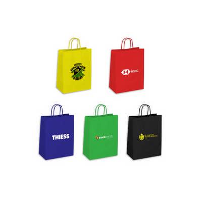Kraft Paper Bag Large Includes Twisted Paper Handl