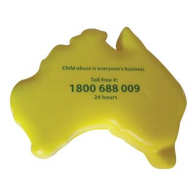 Australia Stress Shape