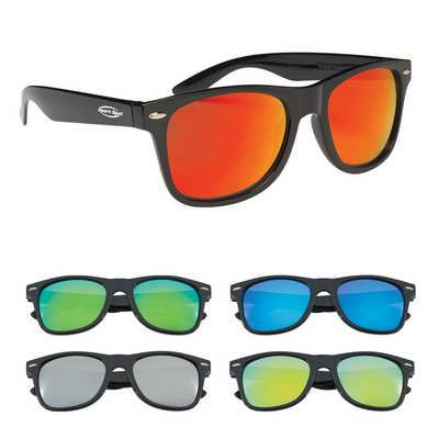 Coloured Mirrored Malibu Sunglasses