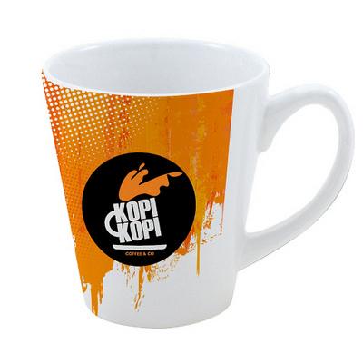 350Ml Full Colour Stoneware Coffee House Mug
