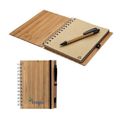 Albany Bamboo Notebook & Pen