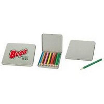 12-Piece Coloured Pencil Tin