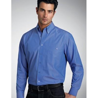 Chambray Mens Business Shirt