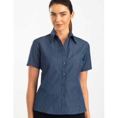 Bold Stripe Womens Business Shirt
