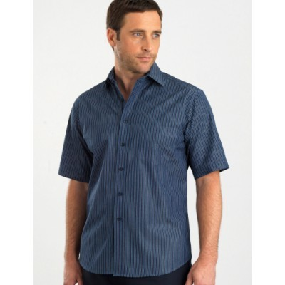 Bold Stripe Mens Business Shirt