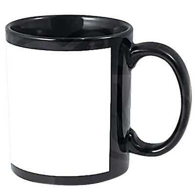 Ceramic Mug With Colour Boarder 11Oz (Printed With