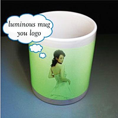 Luminous Ceramic Mug 11 Oz (Printed With Full Colo