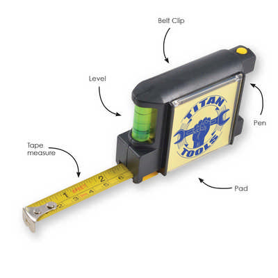 Contractor Tape Measure - (printed with 1 colour(s)) LL1402_LLPRINT