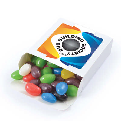 Assorted Colour Jelly Beans in 50 gram Box