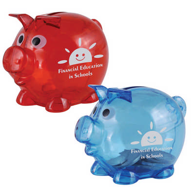 World s Smallest Pig Coin Bank - (printed with 1 colour(s)) LL3598_LLPRINT