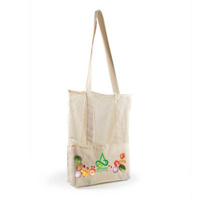 Scoot Calico Mesh Tote Bag