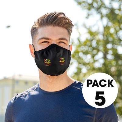 5 Pack - Cooling Face Masks