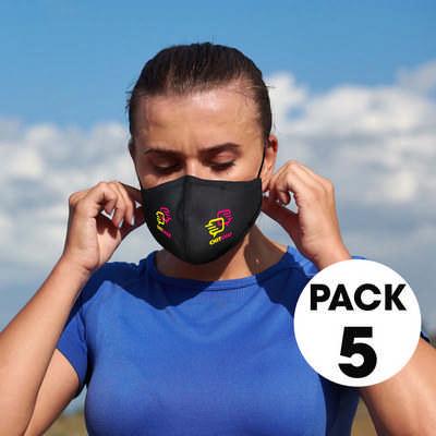 5 Pack - Comfort Face Masks