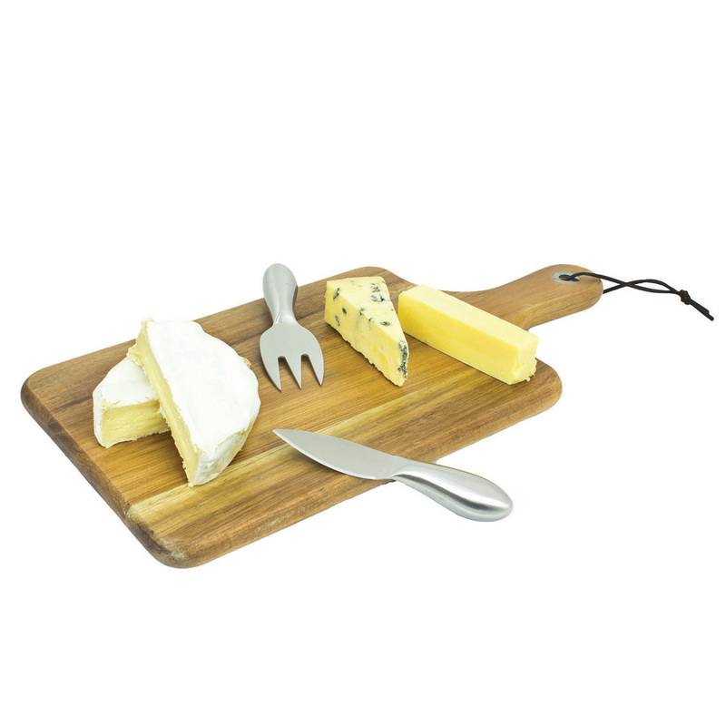 Gourmet Cheese Board - Wooden