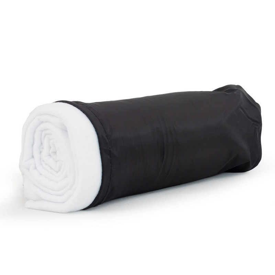 Blanket In Pouch - White