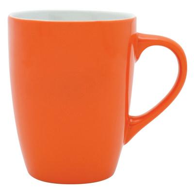 Bella Coffee Cup - Orange/White