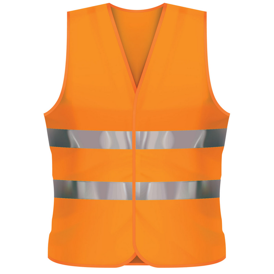 Fluro Vest XL - Orange