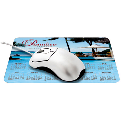Calendar Mouse Pad - (printed with 4 colour(s))  (CA-P23_QZ)