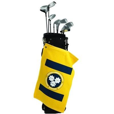 Brushed Velour Golf Towel