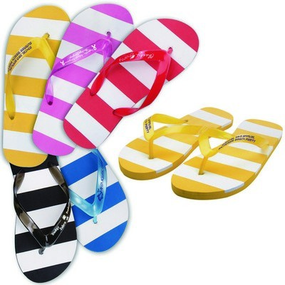 Striped Adult Thongs
