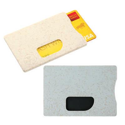 Wheat Straw RFID Card holder