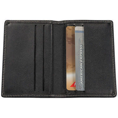 Business Card Holder - (printed with 1 colour(s)) 9201BK_RNG_DEC