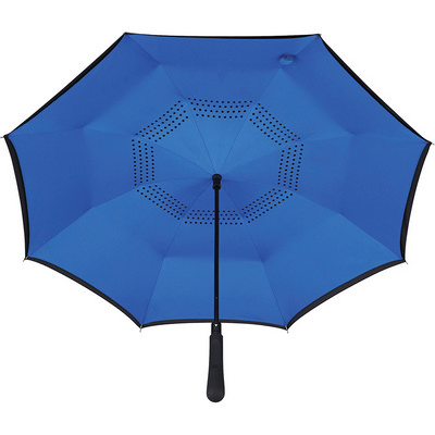 48 inch Auto Close Inversion Umbrella - Royal Blue - (printed with 1 colour(s)) SB1007RYL_RNG_DEC