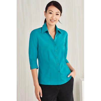 Ladies Plain Oasis 34 Sleeve Shirt