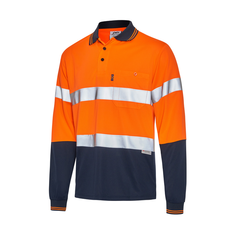 Hi-Vis Day Night Long Sleeve Cool Breathe Safety
