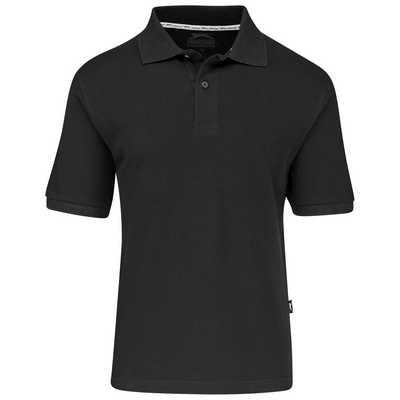 Mens Crest Golf Shirt